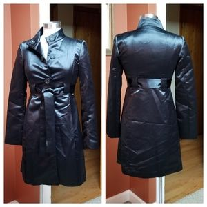 Michael Kors black satin jacket